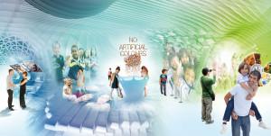 Tinker imagineers mit Entwurf für Nestlés Le Nest in der Schweiz