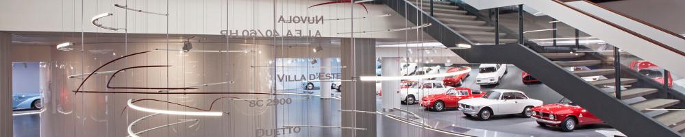 Alfa Romeo eröffnet Werksmuseum in Arese