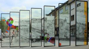 Cristalux-Glasstelen machen Wittlicher Stadtgeschichte erlebbar