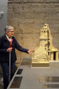 Leipzig barrierefrei erleben: 3D-Tastmodell des Völkerschlachtdenkmals