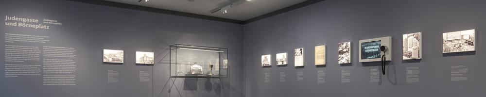 Space4 gestaltet Ausstellung im wiedereröffneten Museum Judengasse
