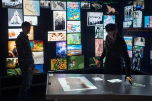 Ars Electronica Futurelab gestaltet Data Room für SAP