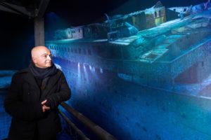 """360°-Panorama """"Titanic – Die Versprechen der Moderne"""" im Panometer Leipzig"""