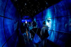 Audiovisuelle Projektionsshow im Besucherzentrum der Cittadella auf Gozo