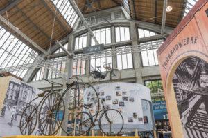 Balanceakte - 200 Jahre Radfahren: Sonderausstellung im Verkehrszentrum des Deutschen Museums