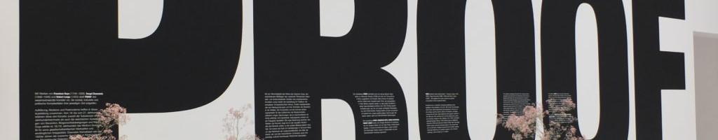 Projektoren von Digital Projection für die Proof-Ausstellung