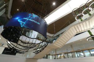 Highlight-Exponat im Besucherzentrum (Foto: Siemens)