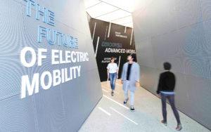 Sonderausstellung The Future of Electric Mobility (Fotos: Atelier Brückner/Michael Reiner)