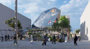 Monaco Pavillon auf der Expo in Dubai