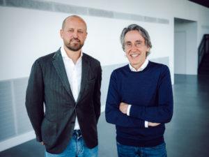 Dr. Marc Schumacher und Martin Schnaack (von links, Foto: Avantgarde)