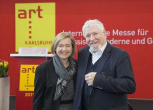 Britta Wirtz und Ewald Karl Schrade (Foto: Messe Karlsruhe)