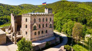 Hambacher Schloss (Foto: picture alliance/imagebroker/Martin Moxter)