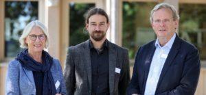 Ute Drews, Dr. Matthias Toplak und Professor Dr. Dr. h.c. Claus von Carnap-Bornheim (von links, Foto: Michael Staudt/grafikfoto.de)