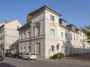 Haus der Neuen Folkwang Residence im Eltingviertel (Foto: Michael Romstöck, 2021)